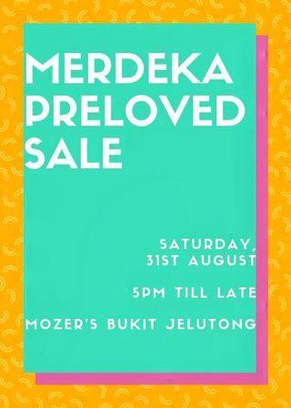 Merdeka Preloved Sale!
