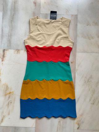 MDS Rainbow Happiness Frock