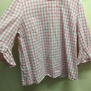 Checkered  Top / Blouse / Shirt #Style
