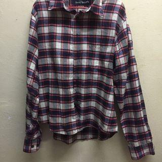 Checkered flannel / Boyfriend Shirt / Top / Blouse #Style