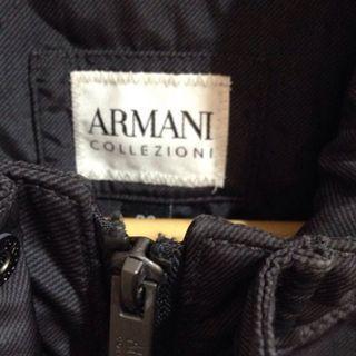 ARMANI COLLEZIONI 亞曼尼(男)風衣長版外套
