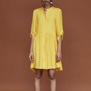 ZARA yellow dress #LalamoveCarousell #HBDCarousell