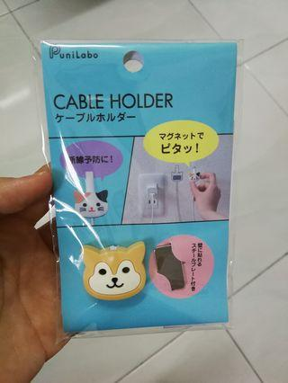 PuniLabo Magnetic Cable Holder from Tokyo