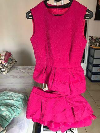 pink fuschia set