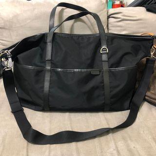 二手 agnes b. 旅行袋 小b 兩用行李袋 多功能