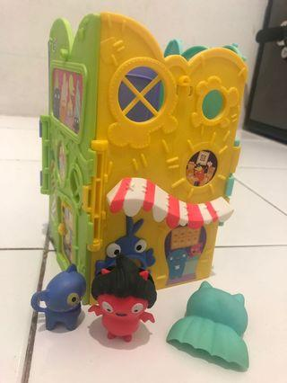Mainan anak / fisher price / ugly doll / elc / barbie / lego / sylvanian / hotweels / tomica