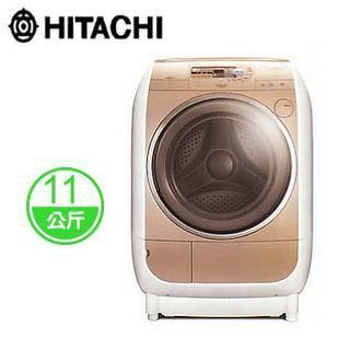 日立 HITACHI SFBD1200T 11公斤 滾筒式洗脫烘洗衣機 (日本原裝進口 / 香檳金 / 二手,大樓有電梯,須自取安裝)
