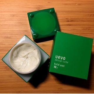日本DEMI 提美 UEVO卵殼膜彩色造型積木髮蠟髮泥80g 綠積木 乾髮蠟