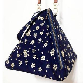日系 櫻花 手拿包  側背包