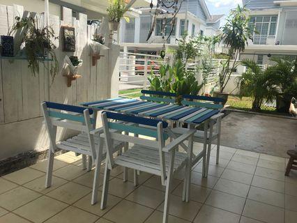 Ikea Garden Table to go!