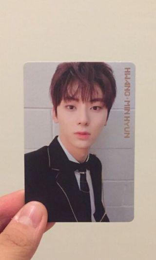 wanna one   hwang minhyun   i promise you photocard