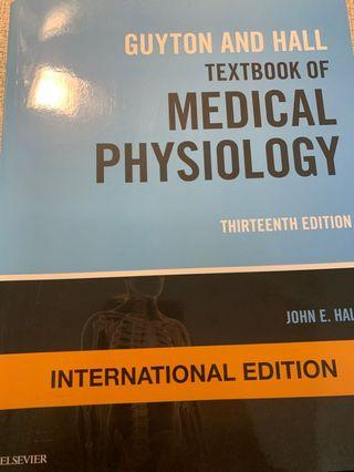Hutton And Hall Textbook of Medical Physiology