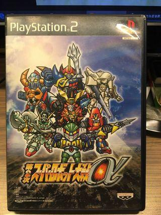PS2 Game - 第二次機械人大戰ALPHA