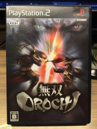 PS2 Game - 無雙OROCHI