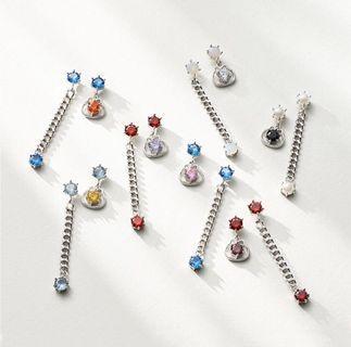 [PO] MONSTA X Twotuckgom Birthstone Earring (925 Silver)