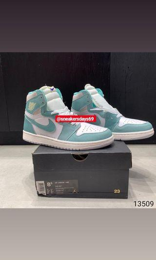 Nike Air Jordan 1 High Turbo Green Tosca BNIB PERFECT PAIRS