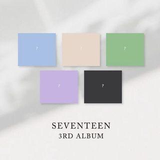 [Non profit PO] SEVENTEEN 3RD ALBUM