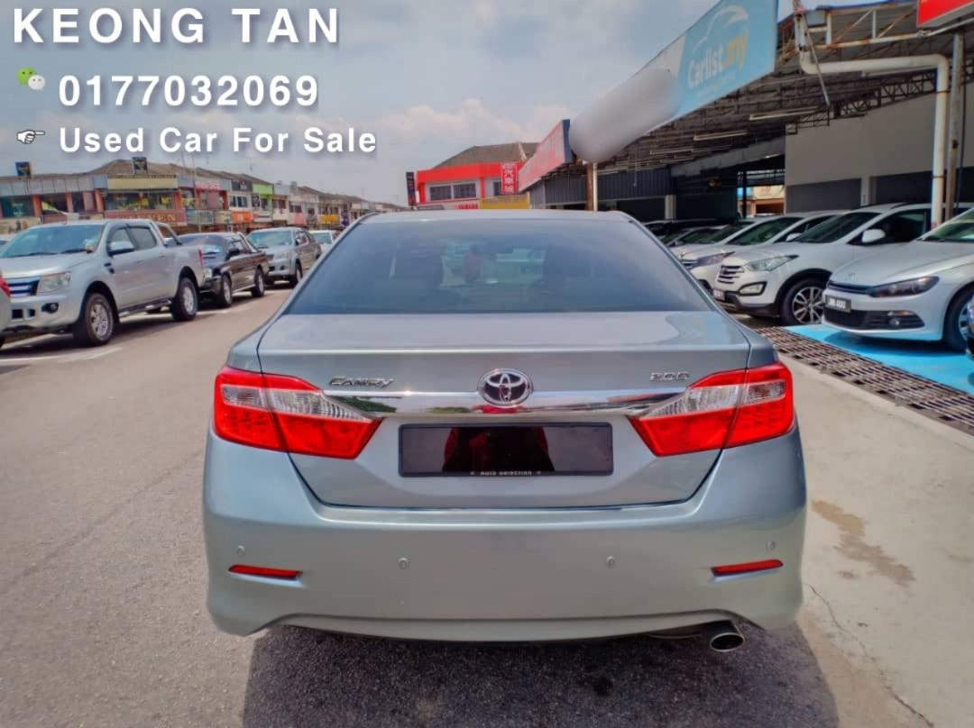 2012TH🚘TOYOTA CAMRY 2.0AT G SPEC LEATHER Seat🎉Cash💰OfferPrice💲Rm70,800 Only‼Lowest Price InJB 🎉📲 Keong‼🤗