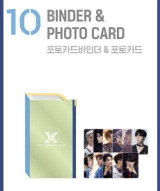 X1 Premier Show-con Binder & Photocard (Loose)
