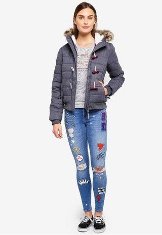Superdry Toggle Puffed Jacket