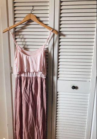 S Pink Maxi Dress