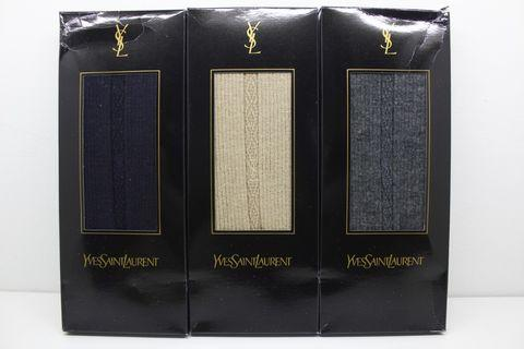 Yves Saint Laurent YSL 3 Pcs Gift Set Socks