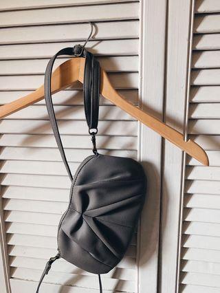 UO Grey Wristlet/Shoulder bag