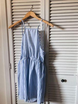 S Striped Dress