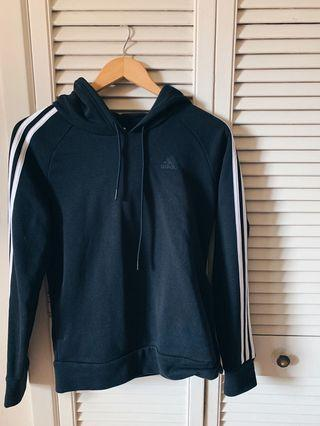 Small Black Adidas Hoodie