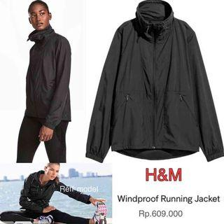 H&M Running Sport Jacket Windproof Woman