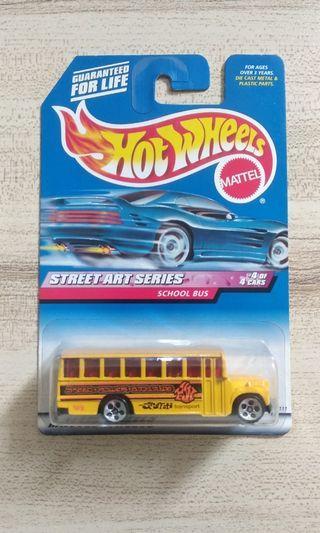 Hotwheels school bus