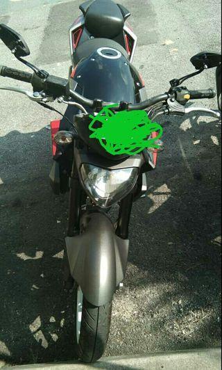 Motosikal naza ns 250cc