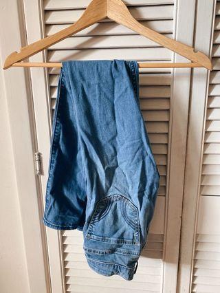 25W Light Wash Hollister Jeans