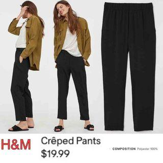 H&M Creped Pants Super comfy