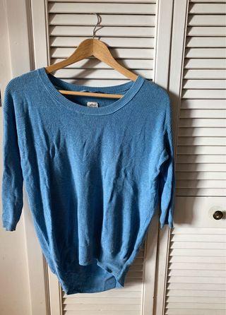 XXS Wilfred Blue Sweater