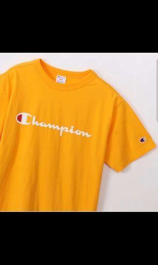 Champion T Shirt Original