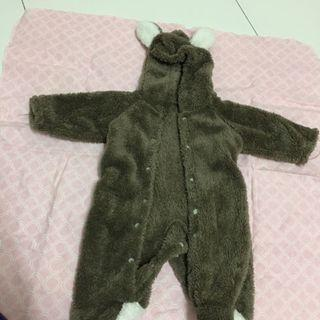 Baby snuggle bear suit