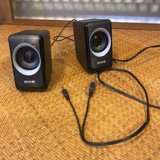 Dike DSM220 USB供電喇叭