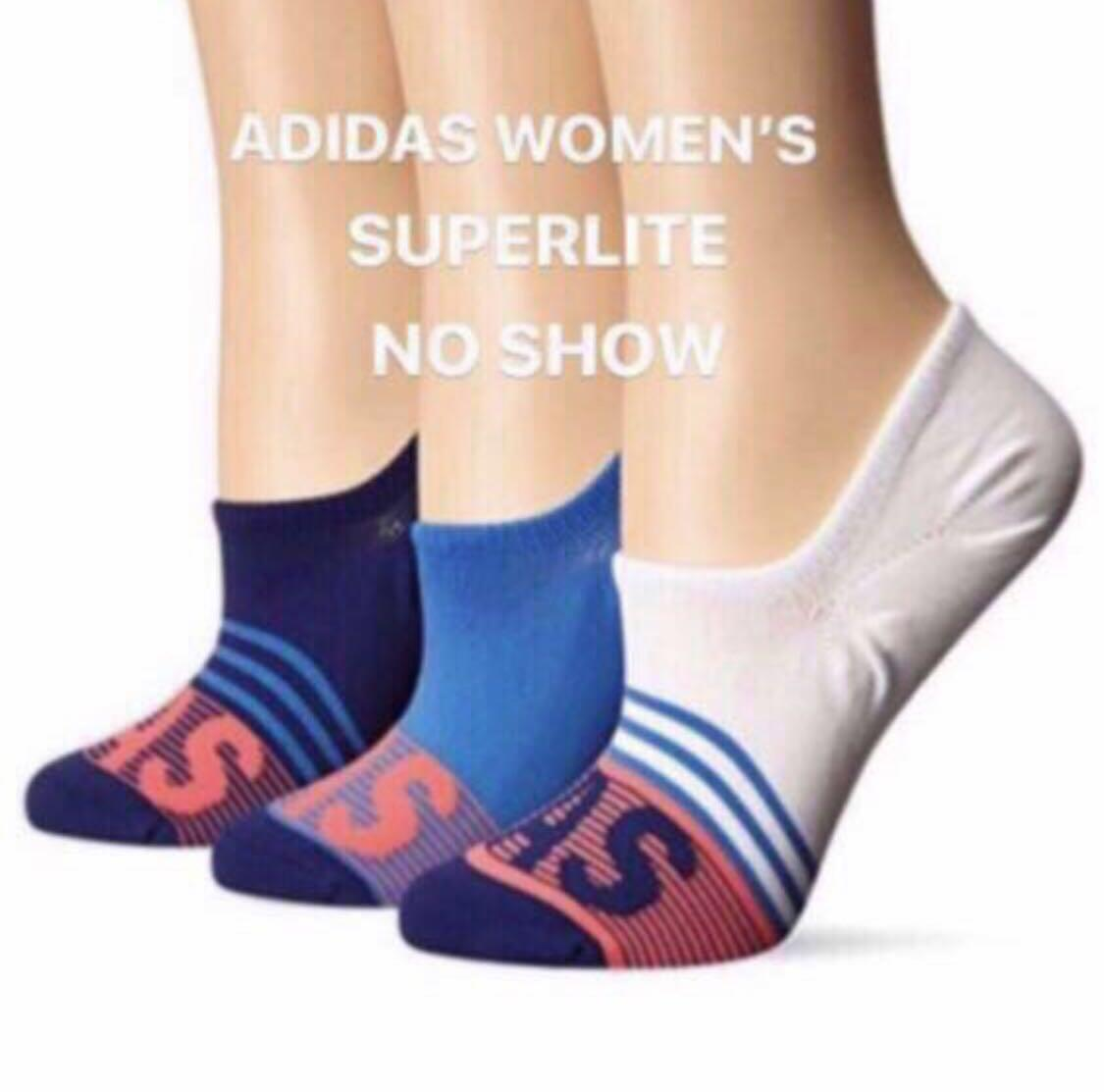 🎅🏻Adidas Socks. Women. Superlite. No