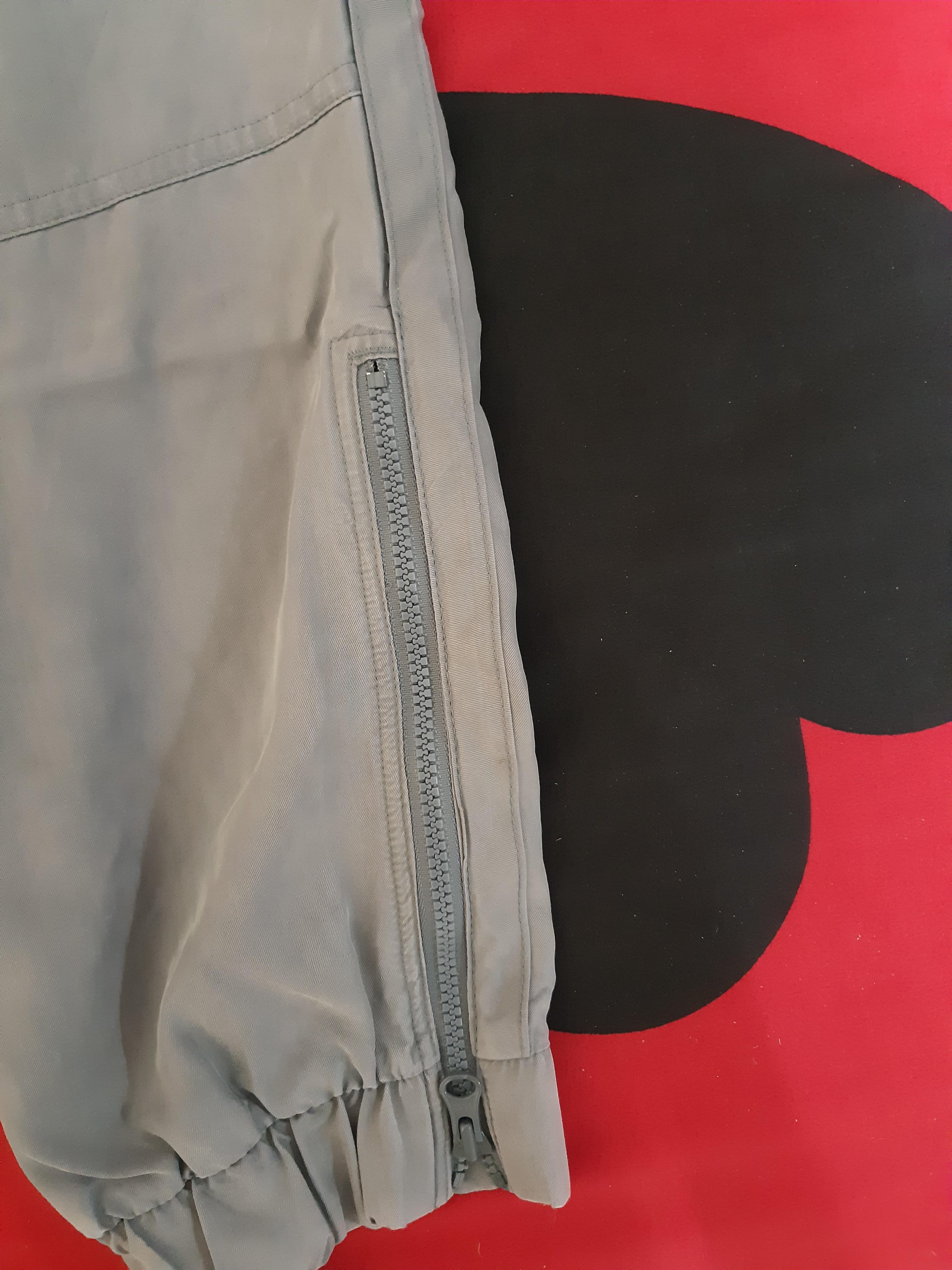 Adidas stella mccartney灰色縮口褲