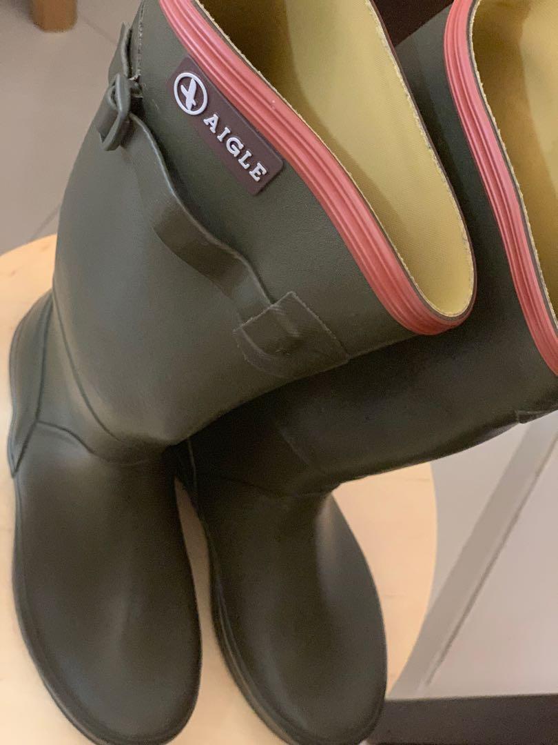 Aigle  rain boot 水鞋