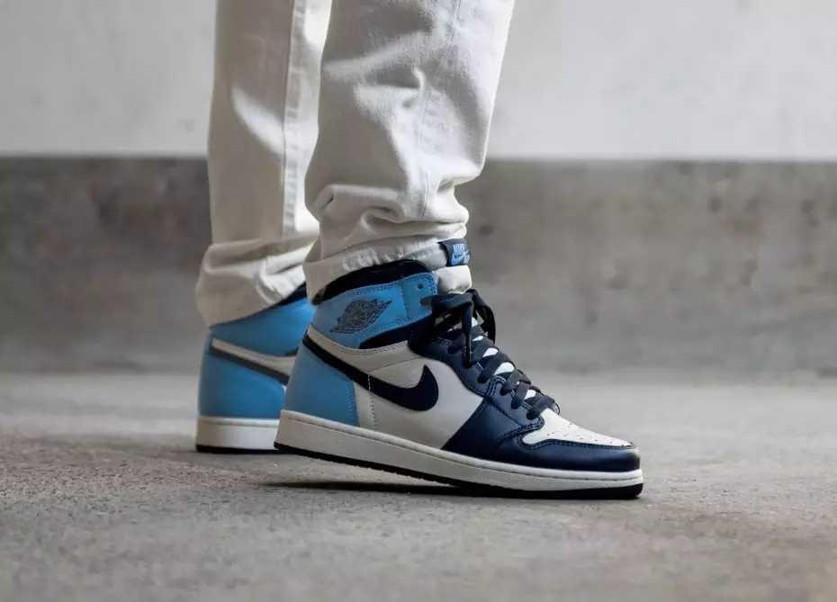 nike air jordan 1 obsidian blue