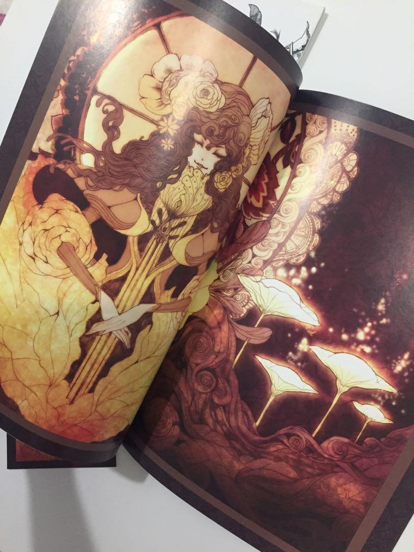 Artbooks and print by Toonikun, Sou, Terra, Kunisaki