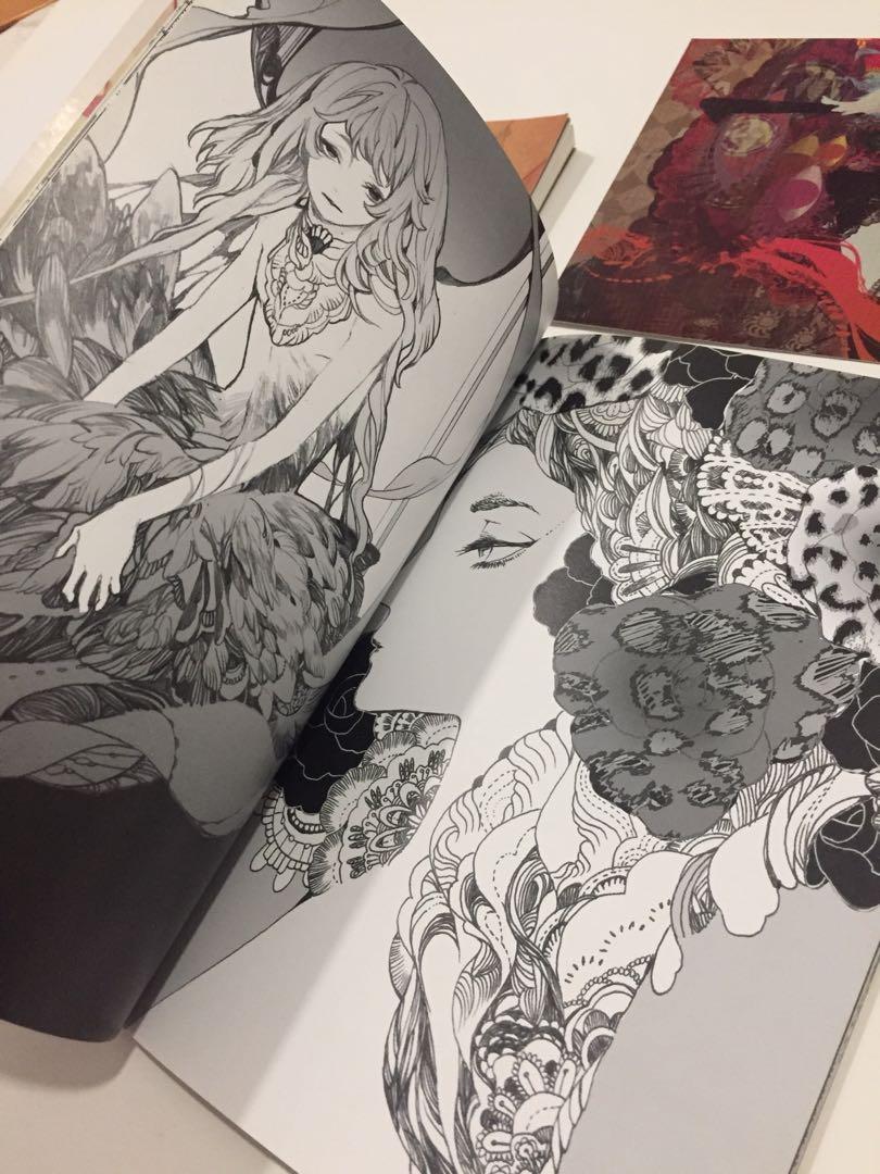 Artbooks by KIDCHAN