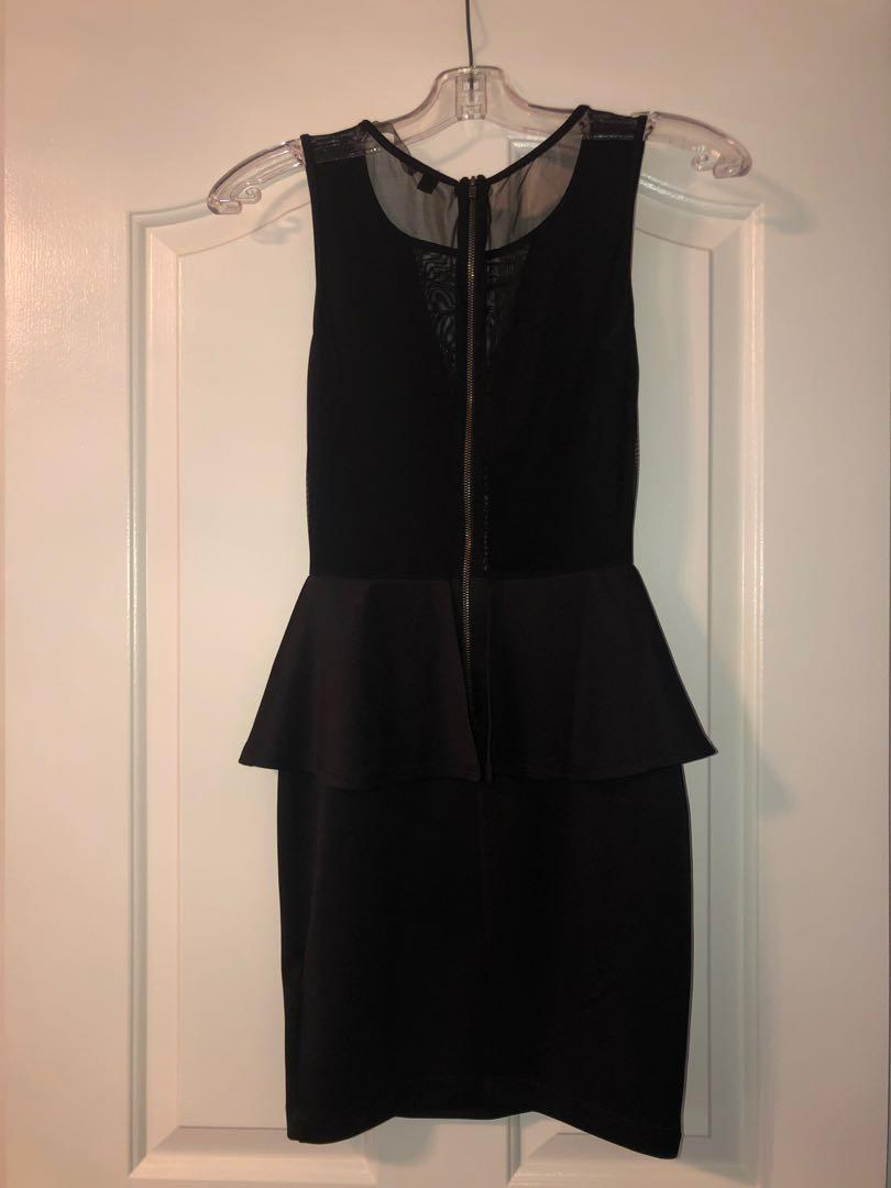 Black formal dress size xs/s