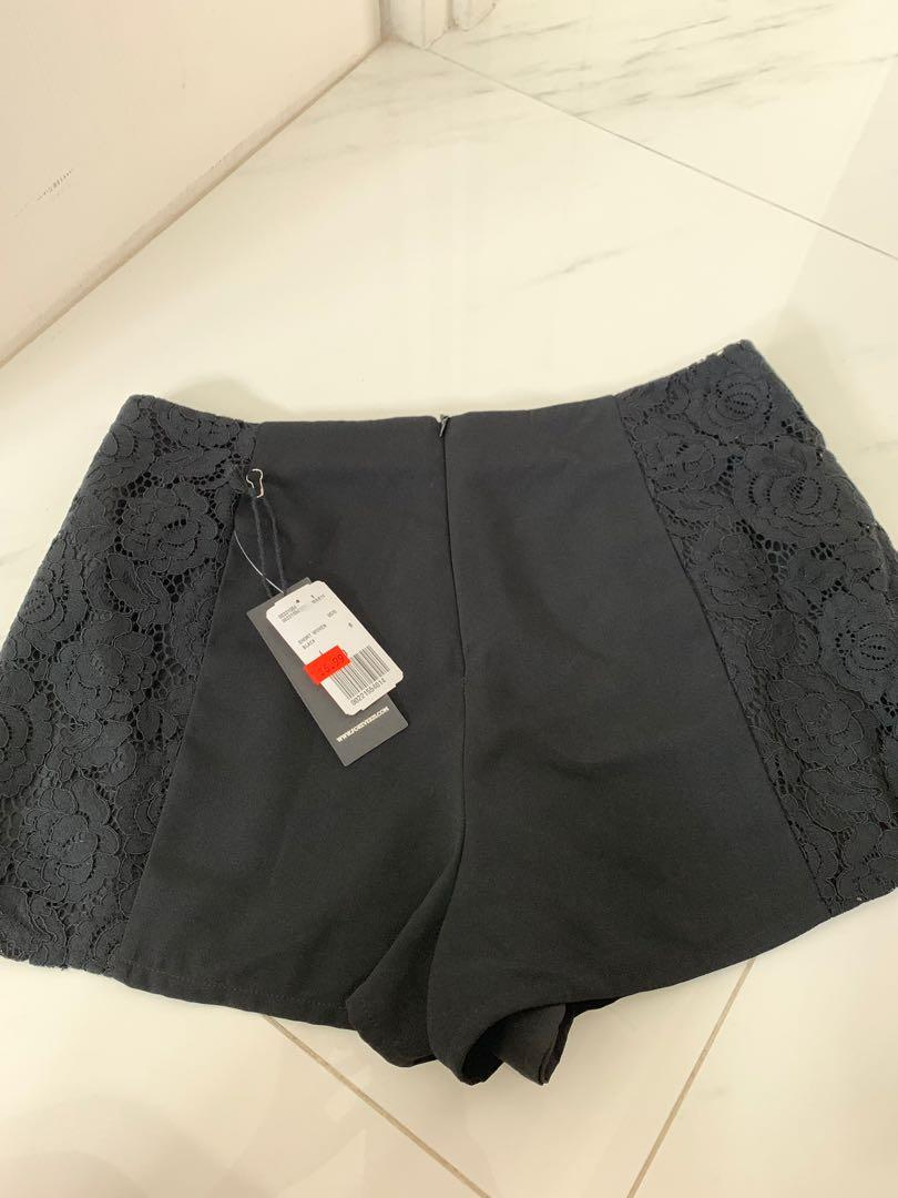BNWT forever 21 shorts with lace