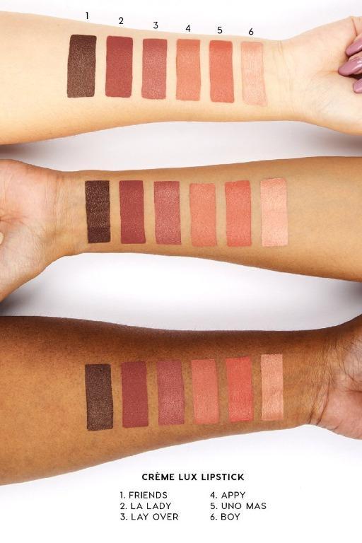 ColourPop Crème Lux Lipstick Uno Mas Nude Neutral Pink Lip Stick