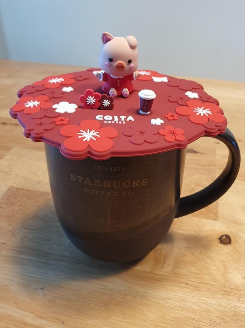 Costa Coffee lid