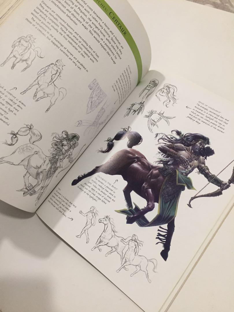 Drawing & Painting The Undead, Fantasy Beast