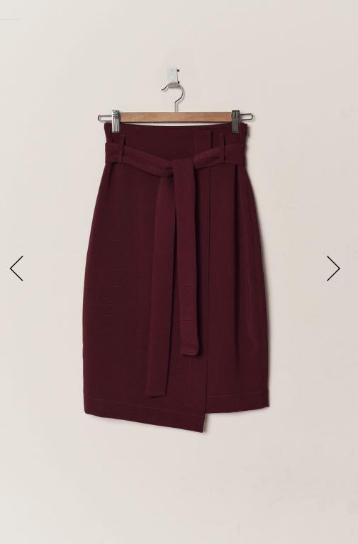 FashMob Dani Sash Pencil Skirt